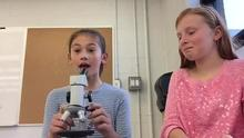 How to use a microscope project