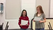 Morning announcements for Friday semtember 14