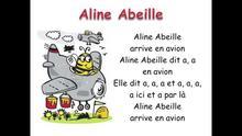 Aline abeille