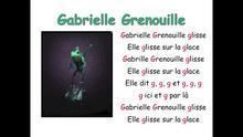 Gabrielle grenouille