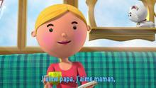 chanson j'aime papa, j'aime maman