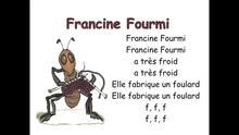 Francine fourmi